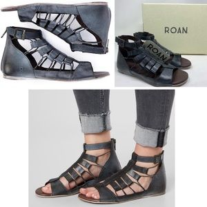 COMING SOON || Roan || Distressed Leather Sandals
